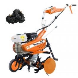 Motosapa Ruris 7088 + roti cauciuc + rarita + dispozitiv cartofi