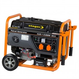 Generator open frame benzina Stager GG 7300EW