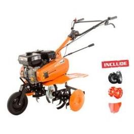 Motosapa Ruris DAC 7009ACC1+roti cauciuc+ rarita + roti metalice 300mm fara manicot
